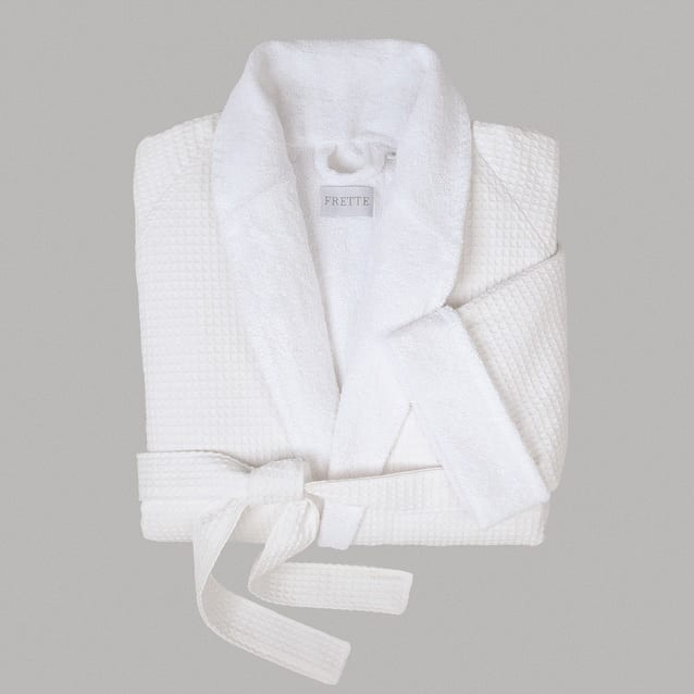 Frette Waffle Terry Robe image