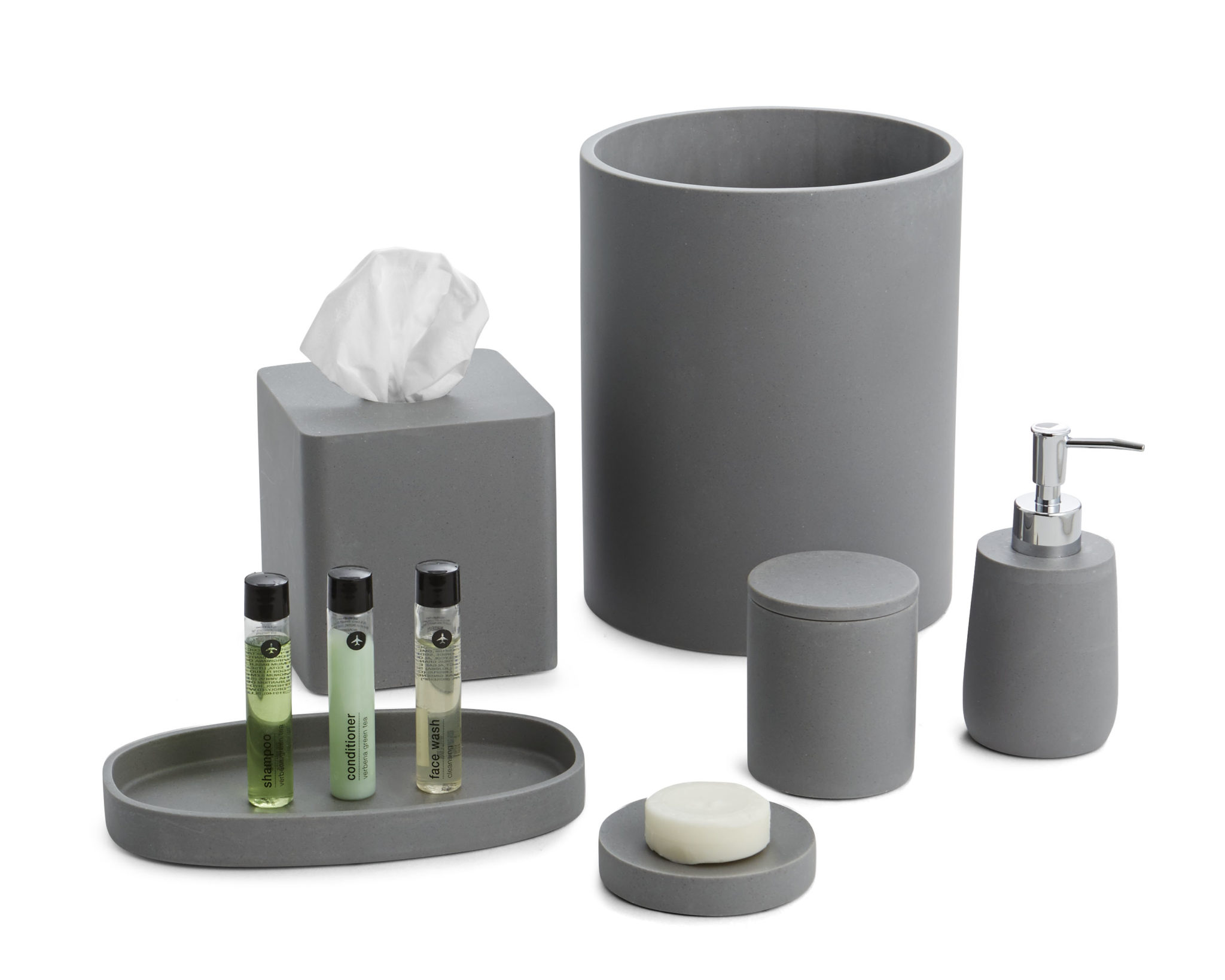 Stonehenge Grey Bath Set image
