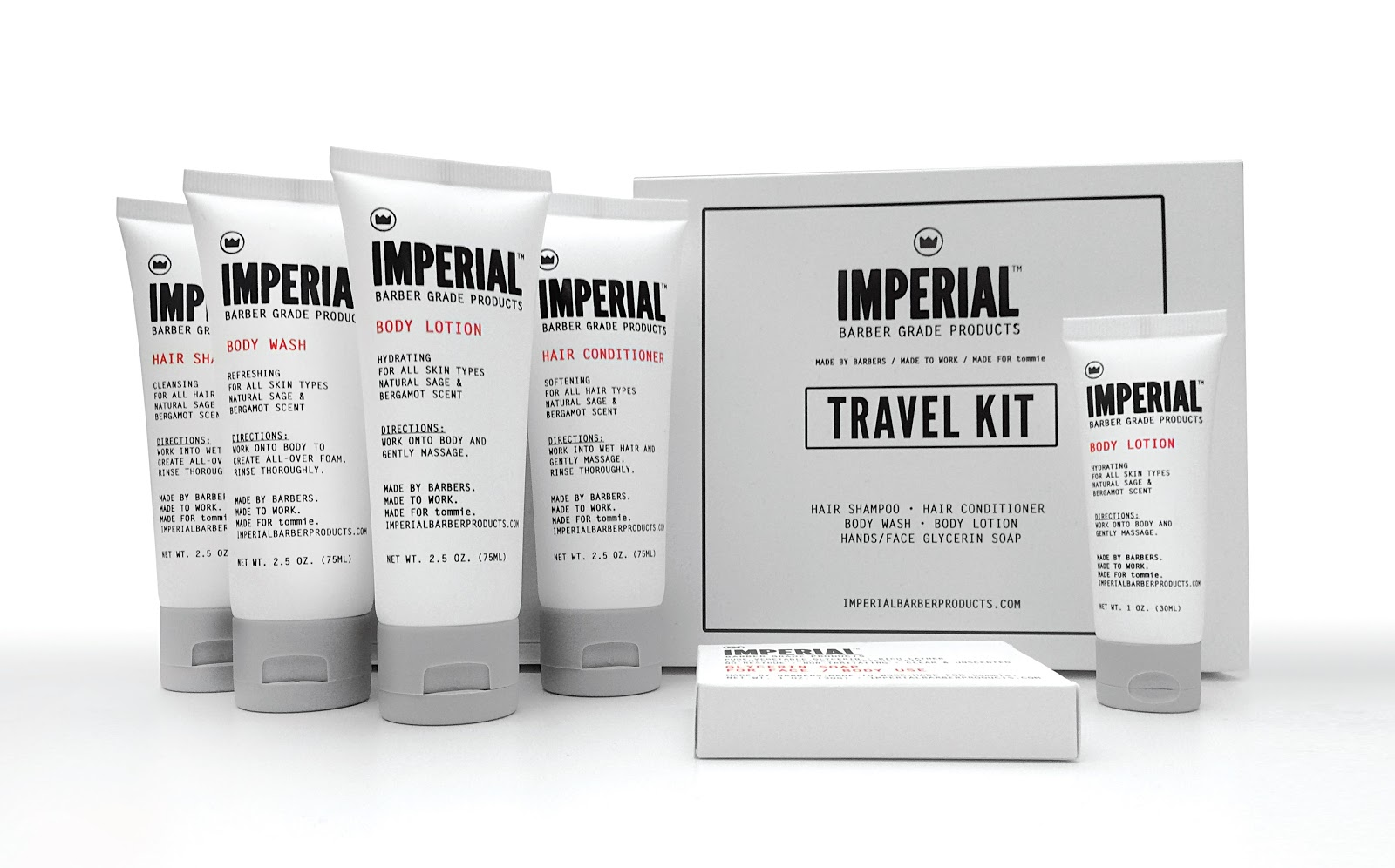 Imperial Barber Hotel Amenities