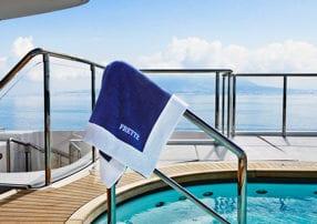 Frette pool towel image